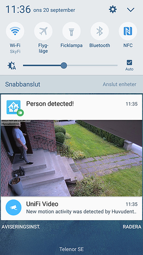 YOLO Object detection on Unifi Security Camera - Share your