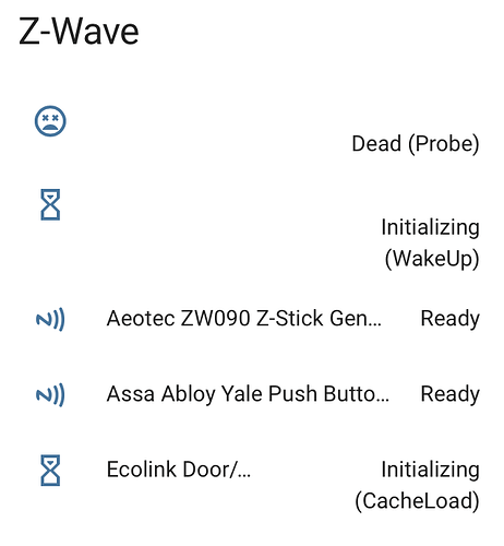 Powered Zwave Devices Marked as Dead - Z-Wave - Home