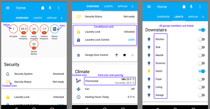 Ariela - Home Assistant Android Client - Ariela for Android - Home