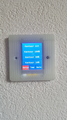 HA SwitchPlate - DIY LCD Touchscreen wall switch replacement