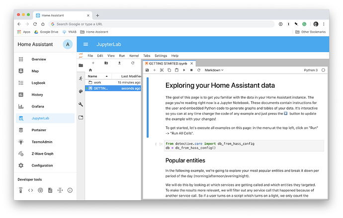 Launched: Data Science Portal - Home Assistant