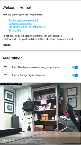Home Assistant Motion Sensor Configuration