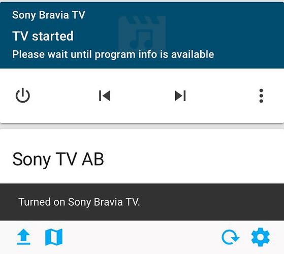 Sony Bravia TV component with Pre-Shared Key - Custom Components