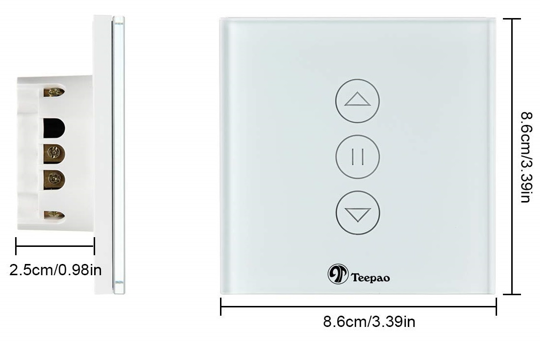 Teepao window cover/shutters integration - Share your