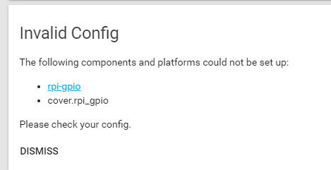 Trying to configure rpi_gpio - Configuration - Home Assistant Community