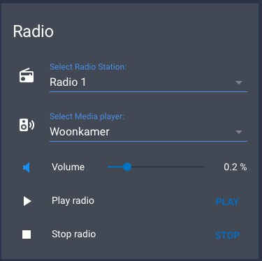 Chromecast Radio with station and player selection - Share