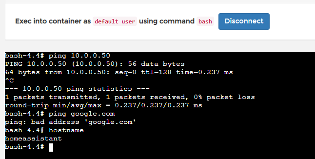 Hassio in Docker (on Ubuntu 19 04) no web access (local access