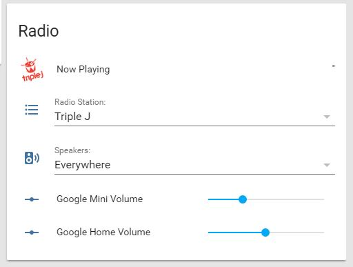 Chromecast Radio with station and player selection - Share your