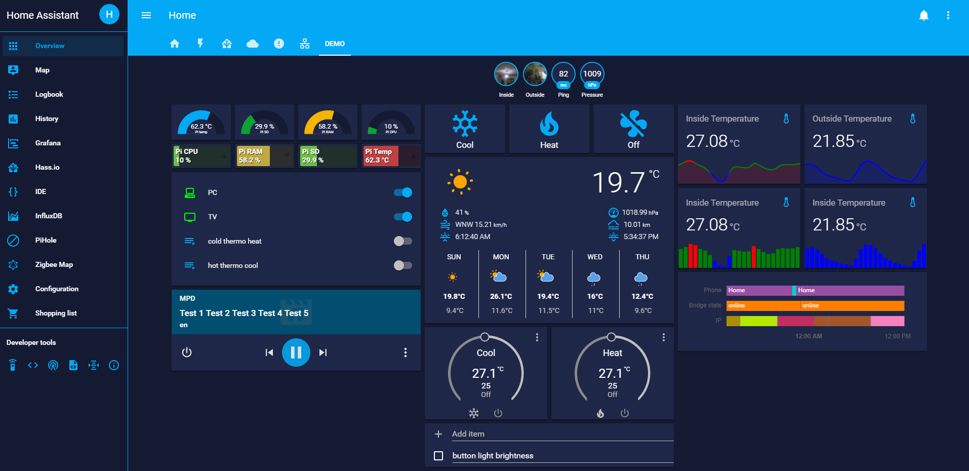 DarkMix - Dark/Blue theme - Themes - Home Assistant Community