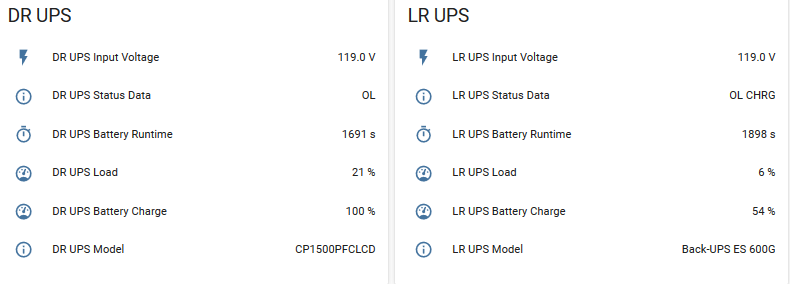 UPS automations not working - Configuration - Home
