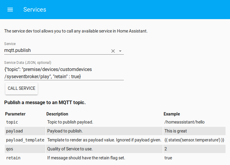MQTT publish retain flag support - Configuration - Home Assistant