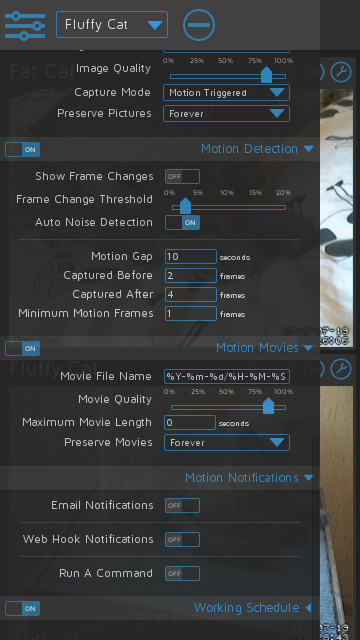Motioneye implementation - Feature Requests - Home Assistant