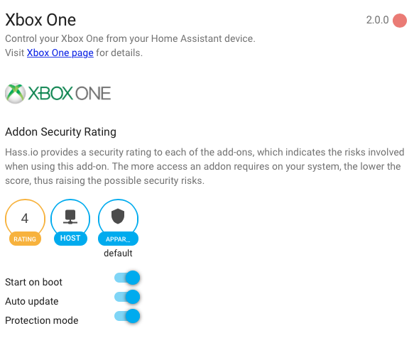 Hass io Add-on: Xbox One - Hass io - Home Assistant Community