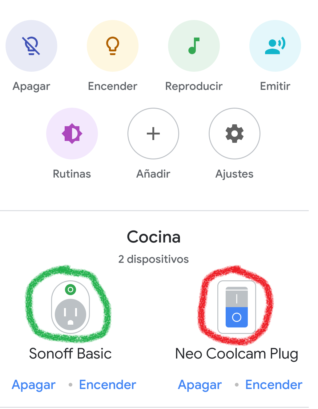 Plug type on Google Home - Configuration - Home Assistant