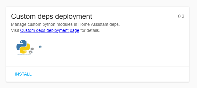 Custom deps deployment addon - what does it do? - Hass io